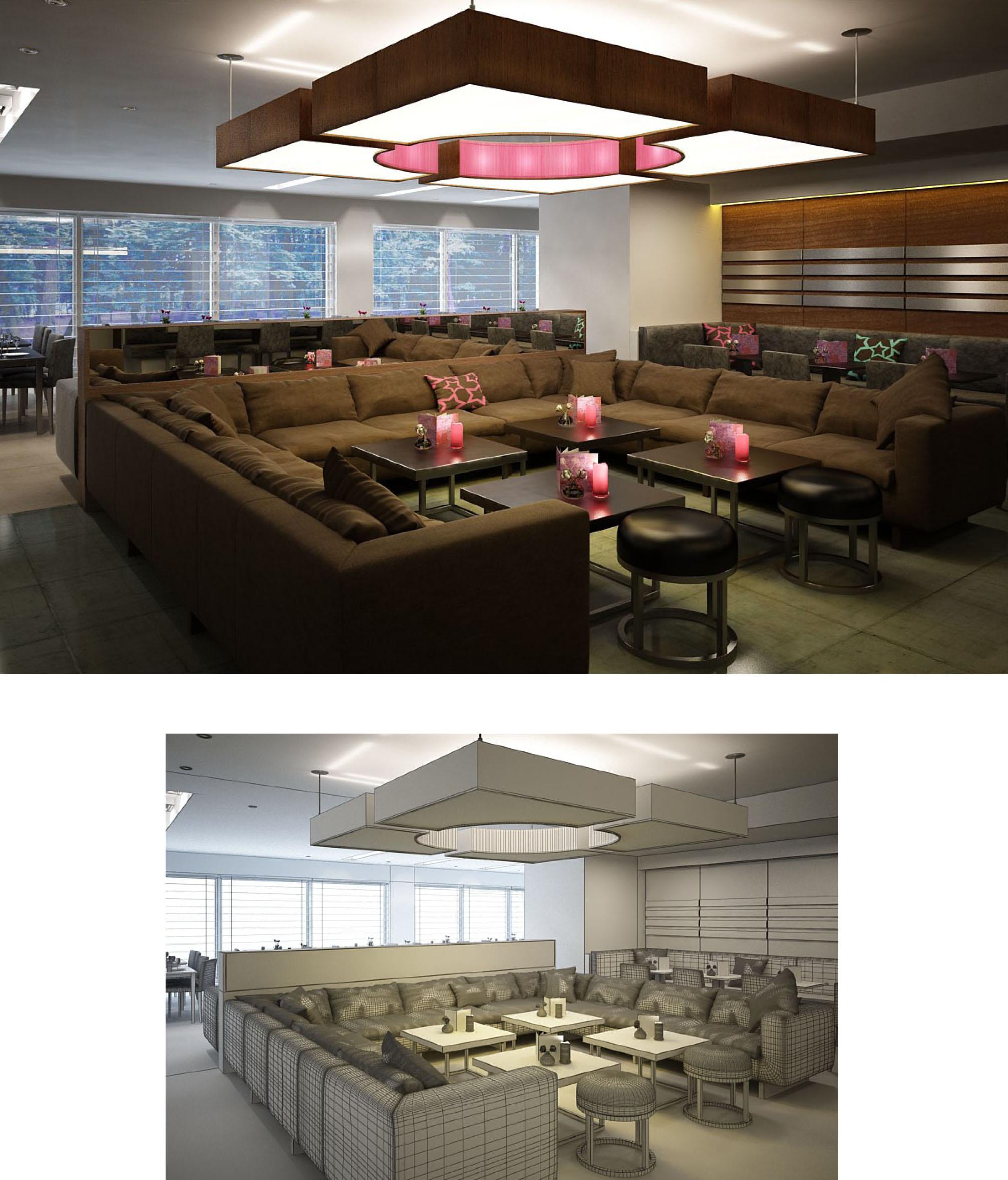 Thiết kế quán cafe, bar đẹp sang trọng