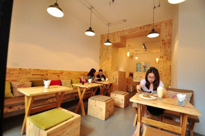 Ý tưởng thiết kế cho quán cafe đẹp và rẻ khi vốn đầu tư còn hạn hẹp