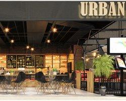 Thiết kế quán cà phê phong cách Urban