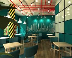  Bàn ghế cafe mang phong cách Urban