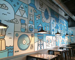 Thiết kế cafe ở Hà Nội với những nét phá cách độc đáo