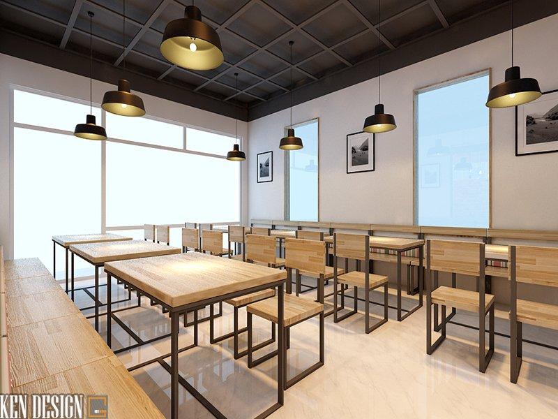 Thiết kế quán cafe 3D