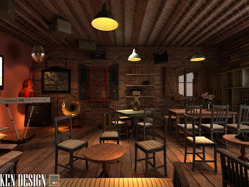 Thiết kế nội thất quán cafe đẹp với nhiều phong cách