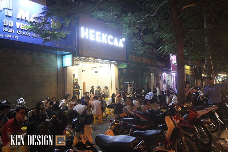 """Choáng ngợp với Heekcaa - Quán trà sữa hút """"nườm nượp"""" khách"""