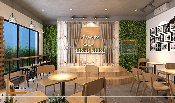 3 điều cần biết để thiết kế quán cafe nhạc sống hút khách