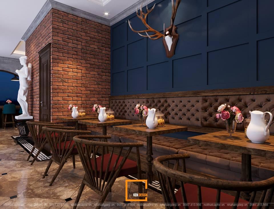 Xuýt xoa trước thiết kế quán cà phê Ngân Hà Coffee theo phong cách Châu Âu