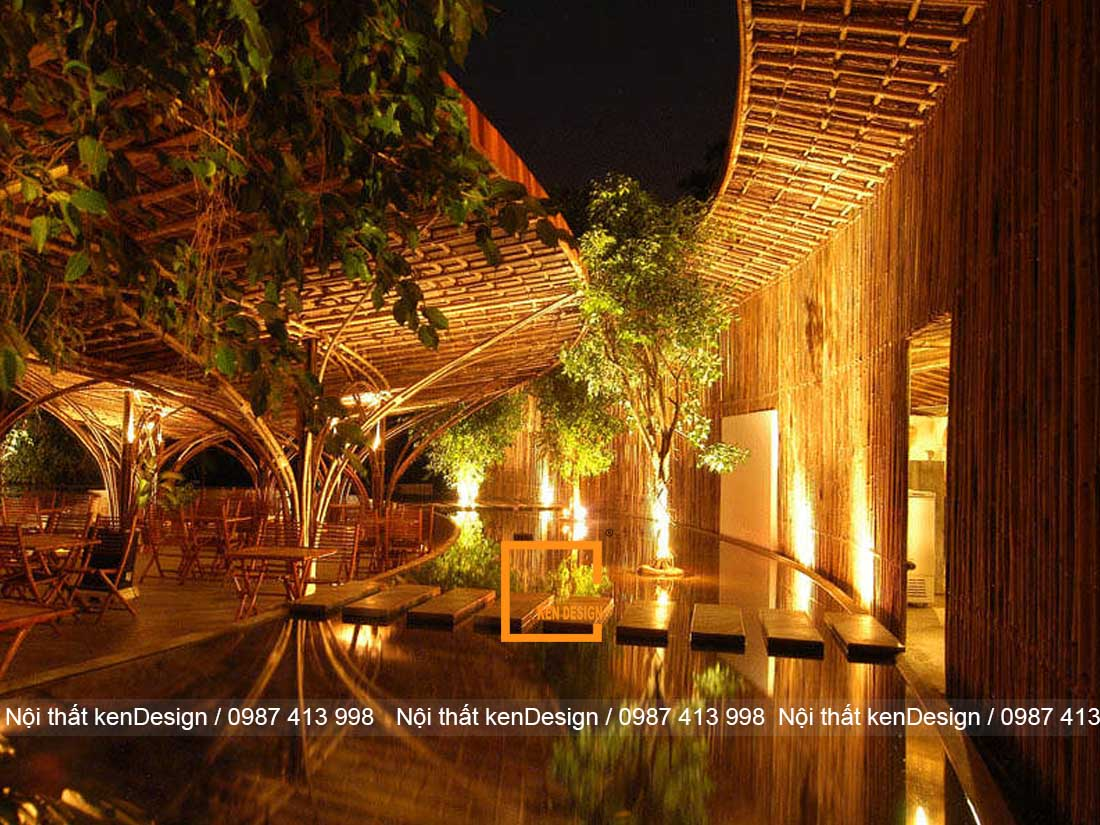 Không thể rời mắt trước thiết kế kiến trúc của cafe thân thiện với môi trường