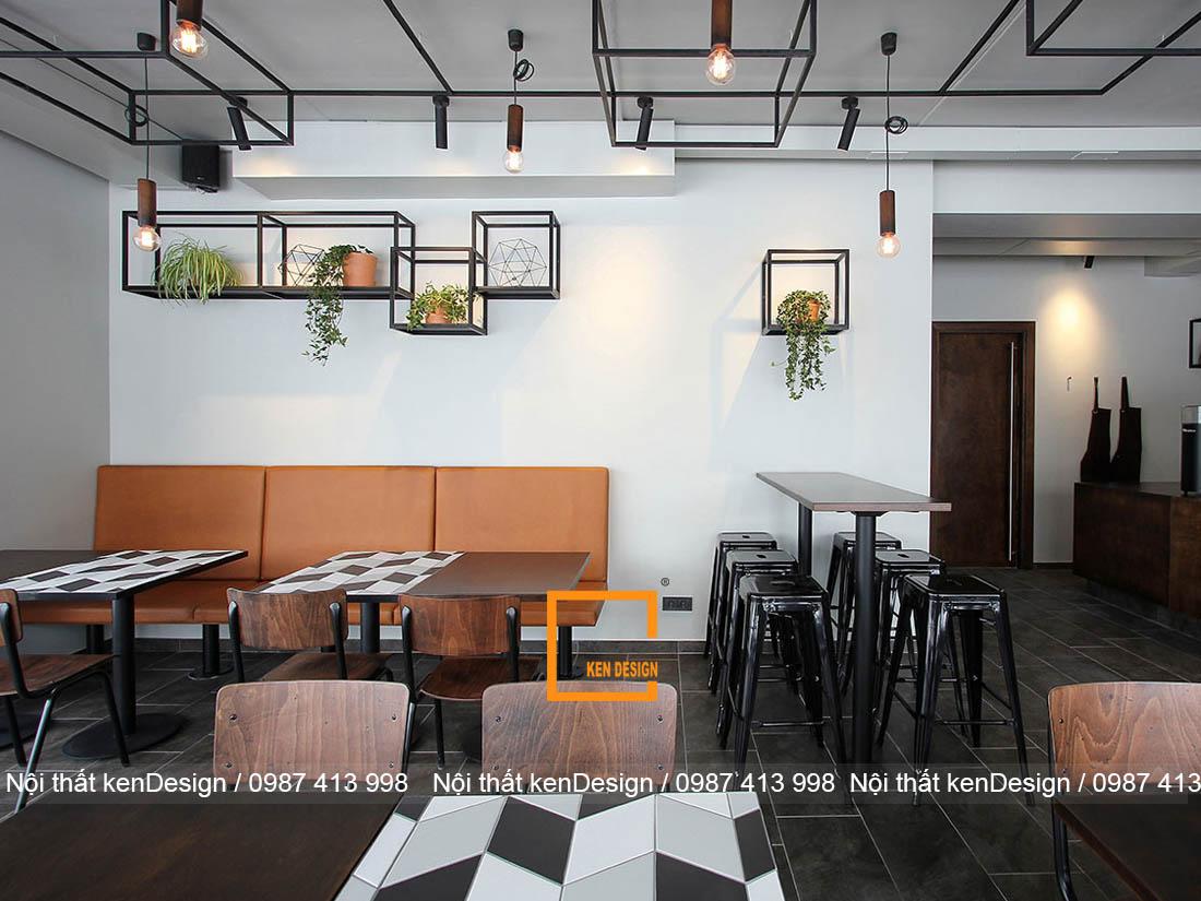 Tại sao thiết kế quán cafe khung thép được ưa chuộng đến thế?