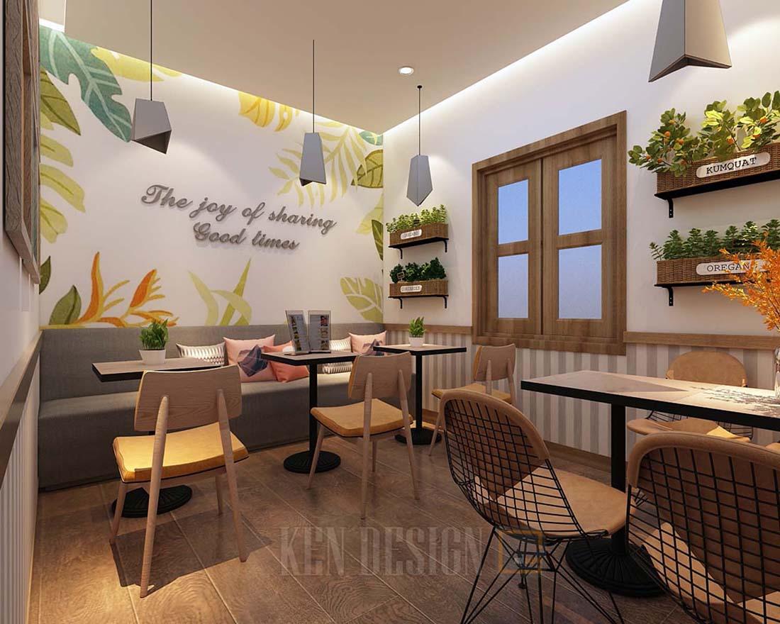 Cẩm nang thiết kế quán trà sữa tại Thái Nguyên rẻ đẹp