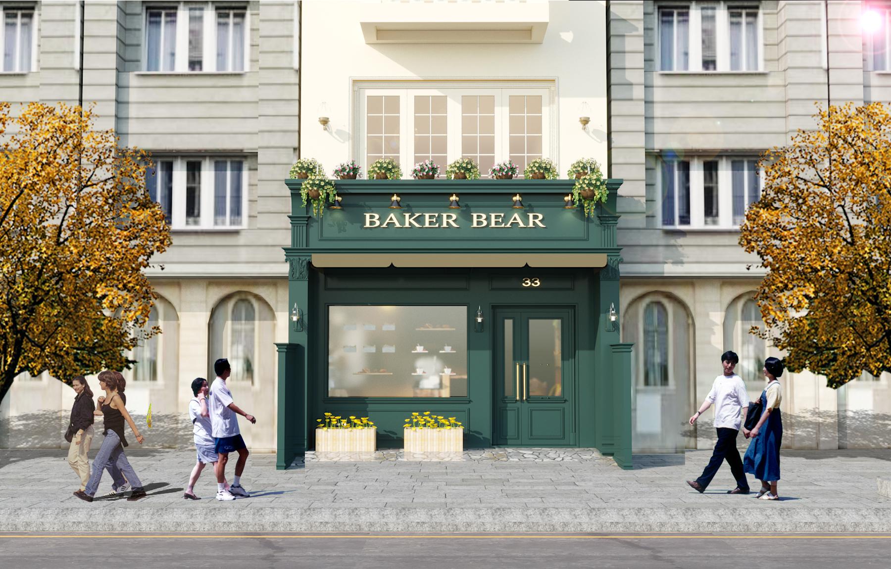 BAKER BEAR  - Không gian quán cafe, trà chiều đậm chất Châu Âu giữa lòng Hà Nội