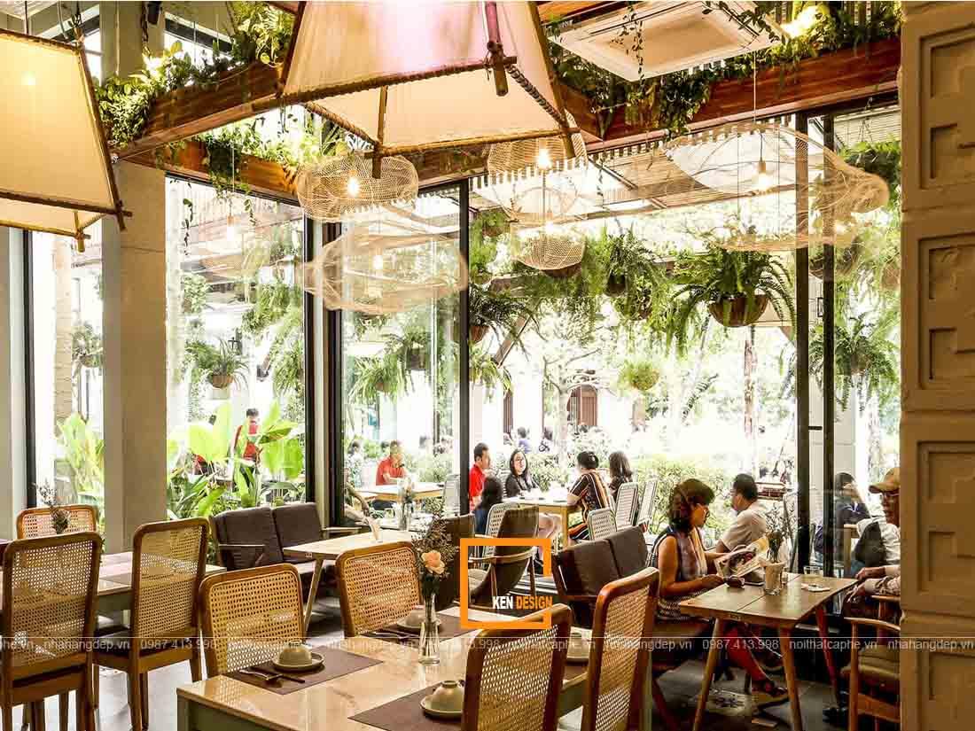Tư vấn thiết kế quán cafe phong cách Đông Dương ấn tượng