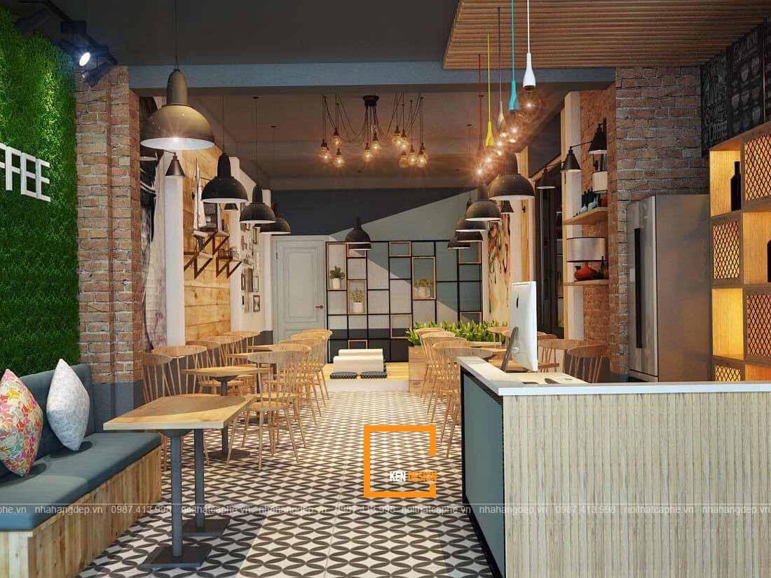 quán cà phê nhà ống