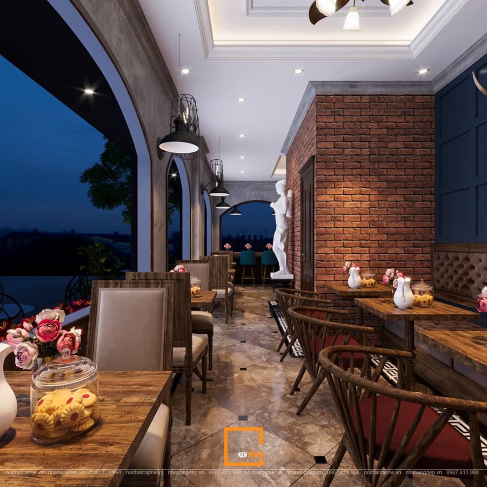 Thiết kế quán cafe chuẩn phong cách tân cổ điển bạn đã biết chưa ?