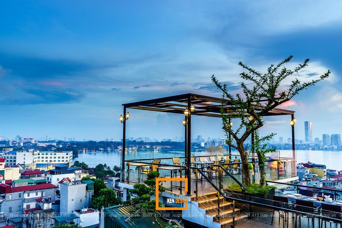 Bí quyết sở hữu thiết kế quán cafe RoofTop cực thịnh