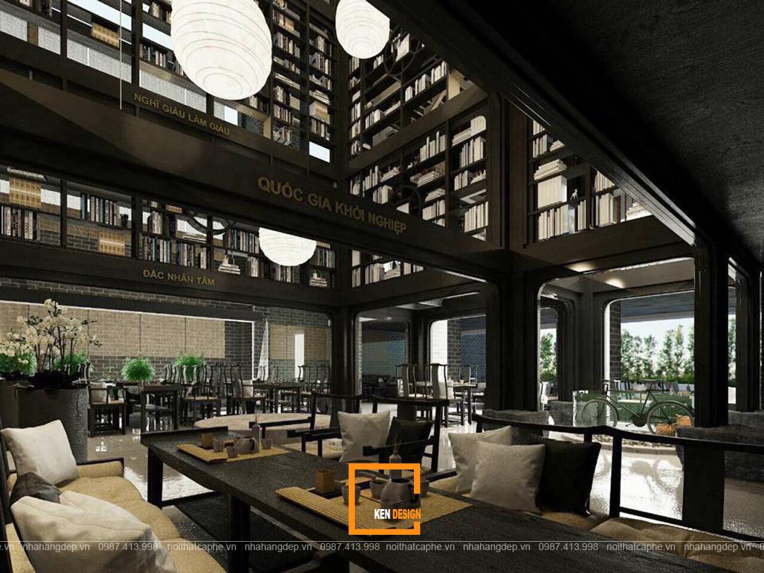 Những điều cần biết khi thi công kiến trúc quán cafe