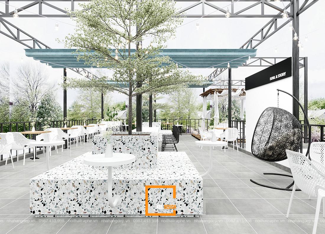 3 Mẫu thiết kế quán cafe sân vườn không thể bỏ lỡ