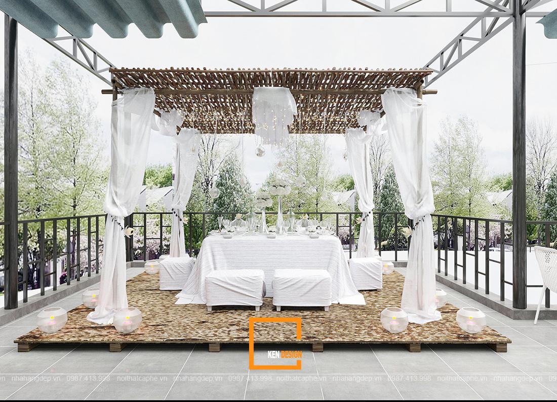 Thiết kế quán cafe không gian mở - Thấu hiểu tường tận trái tim khách hàng