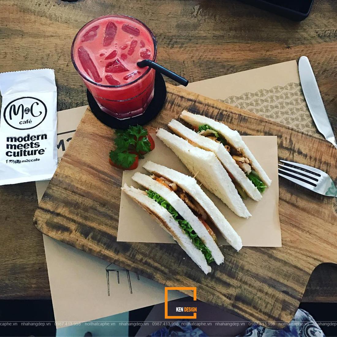 Bí quyết thiết kế quán cafe kết hợp đồ ăn nhanh thu hút