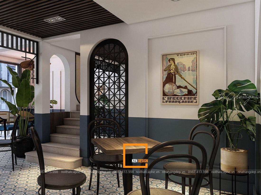 Chìa khóa vàng khi thi công quán cafe phong cách Indochine