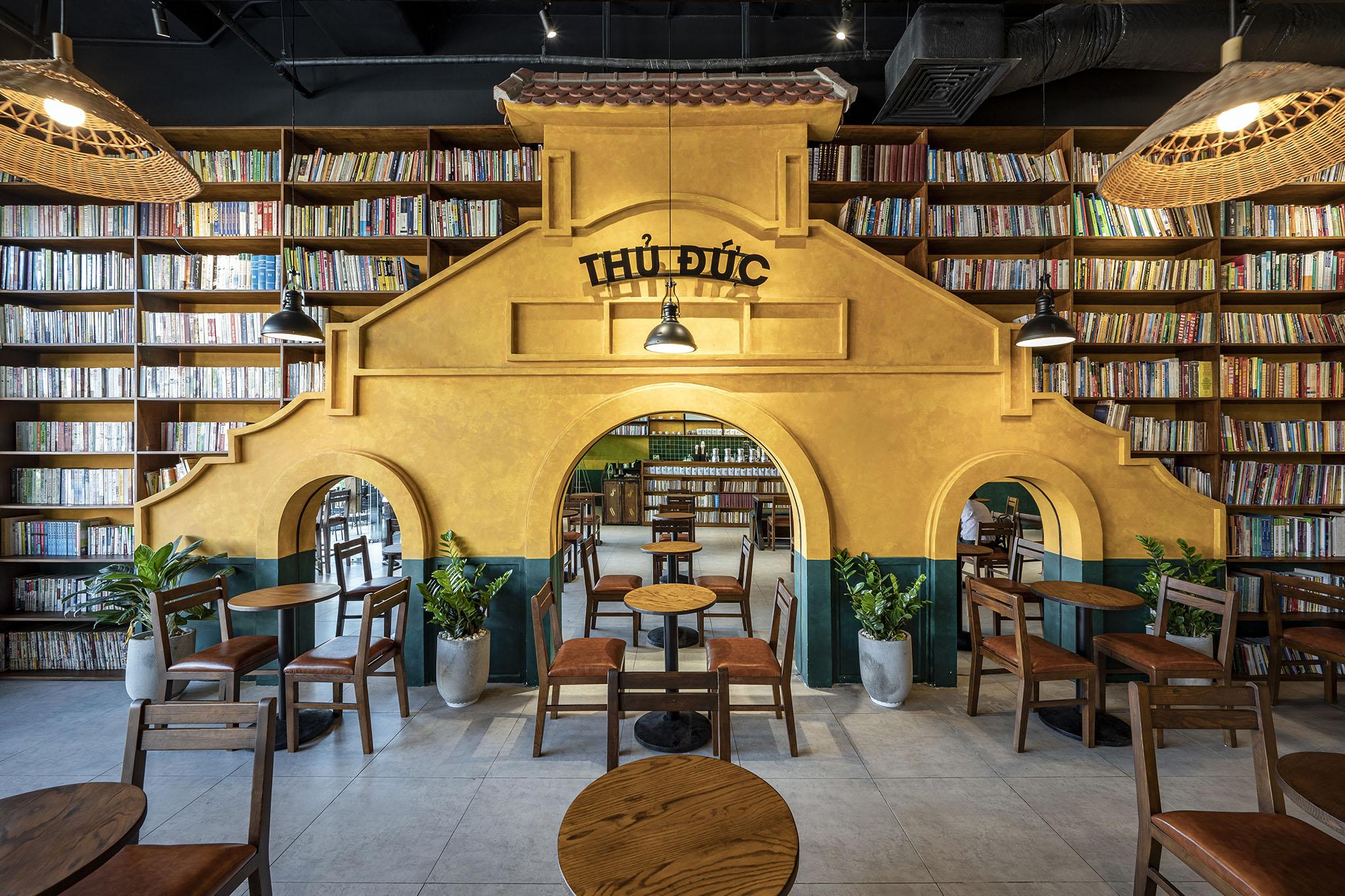 Thiết kế quán Buôn Cà phê tại Thủ Đức- Một thoáng Bến Thành giữa lòng Thủ Đức
