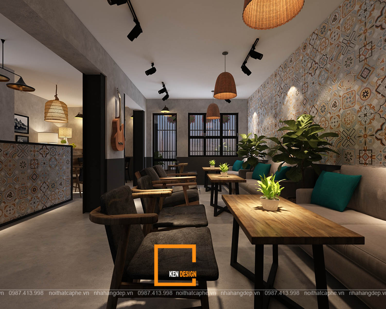Thiết kế quán cà phê phong cách indochine - tại sao không?