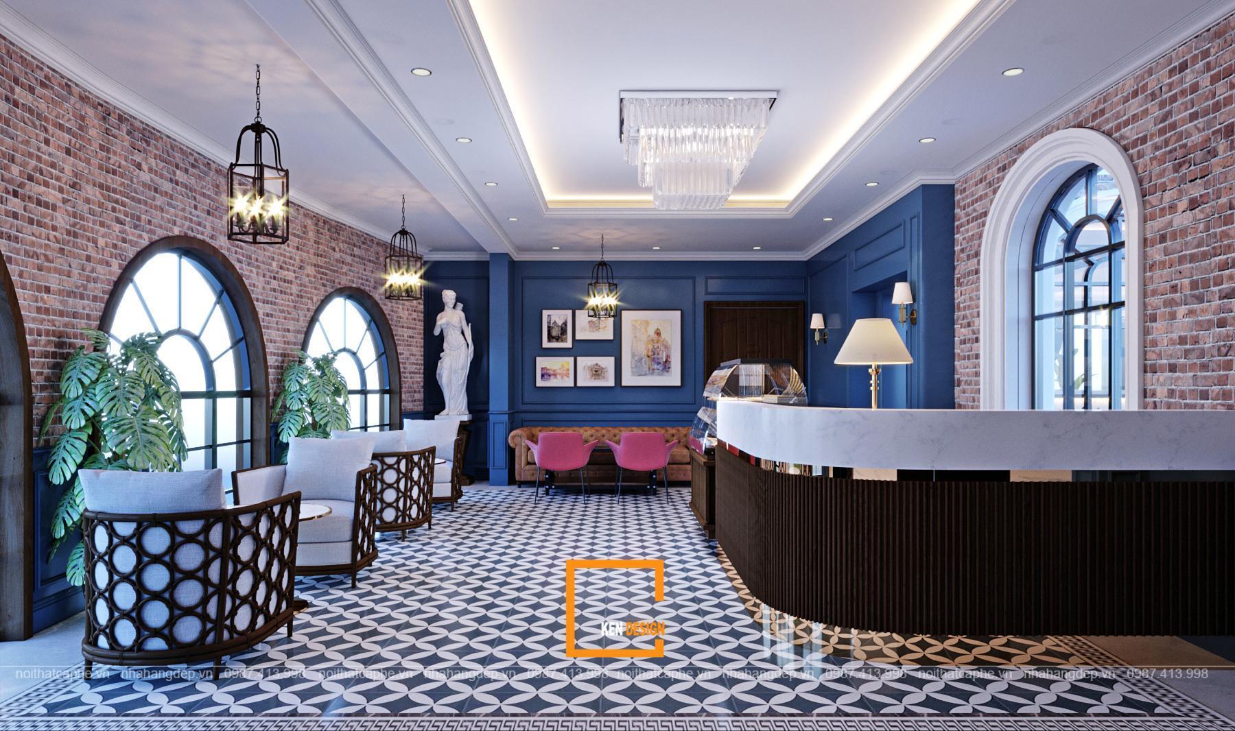 Tư vấn thiết kế quán cafe tân cổ điển – Vẻ đẹp vượt thời gian