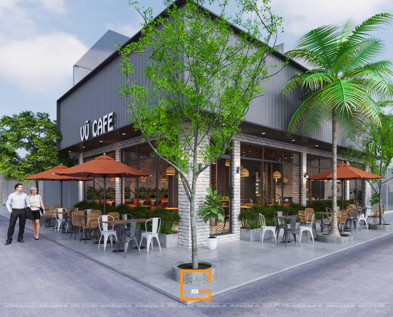 Bí quyết hút khách trong thiết kế quán cà phê 1 tầng - có thể bạn chưa biết?