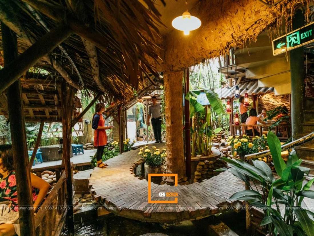 Thiết kế nhà hàng lẩu cua đồng – nét đẹp Việt Nam xưa chưa bao giờ hạ nhiệt
