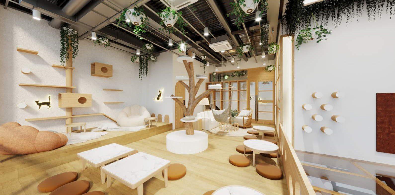 Đặc điểm thiết kế quán cafe thú cưng bạn đã biết chưa?