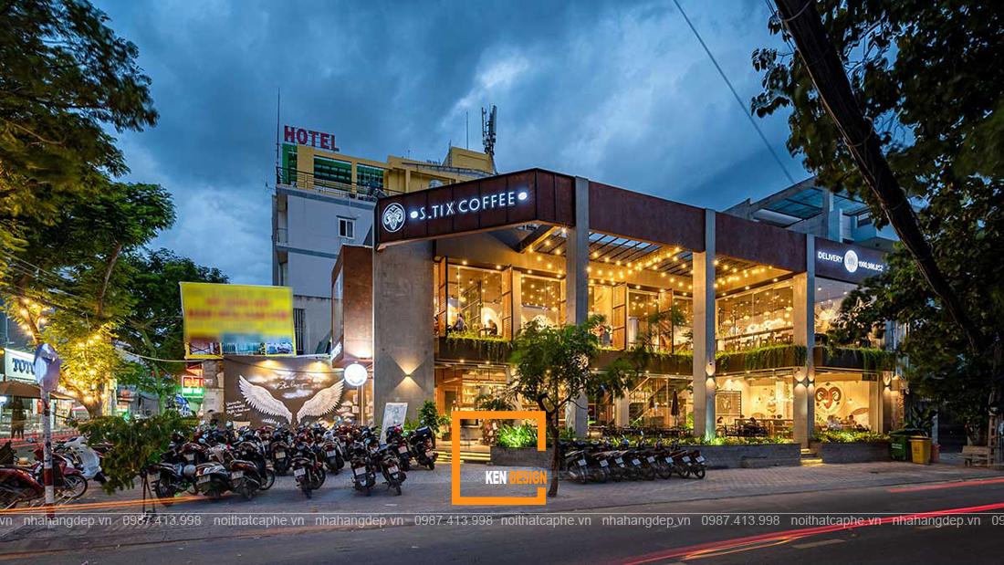 Vén màn bí mật top ý tưởng thiết kế quán cafe 3 mặt tiền ăn khách