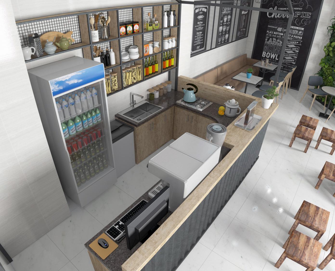 Bật mí tiêu chuẩn thiết kế quầy bar quán cafe bạn đã biết chưa?