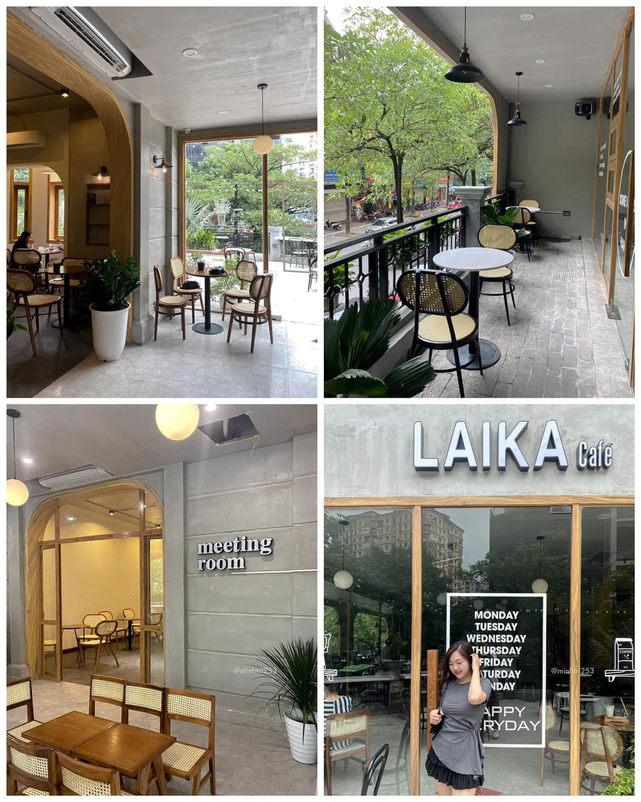 Vẻ đẹp tinh tế, thu hút trong thiết kế quán cafe Laika