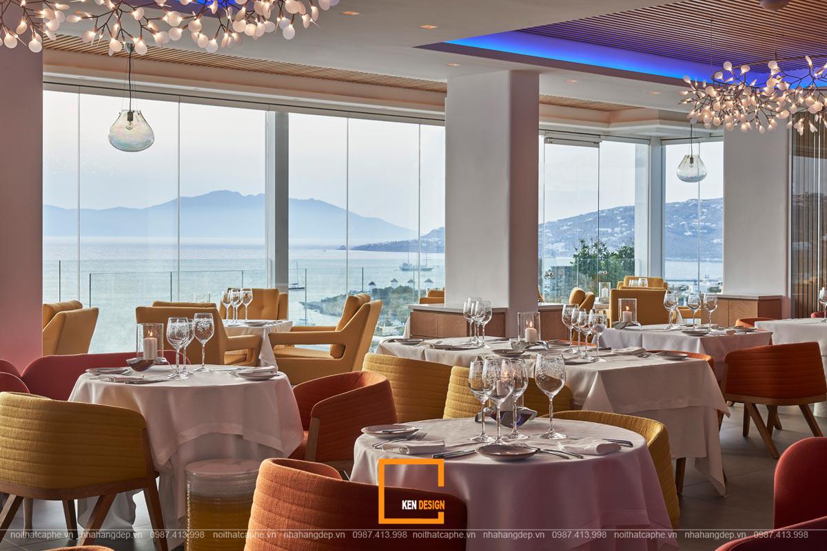 Những sai lầm phổ biến trong thiết kế nội thất nhà hàng view biển