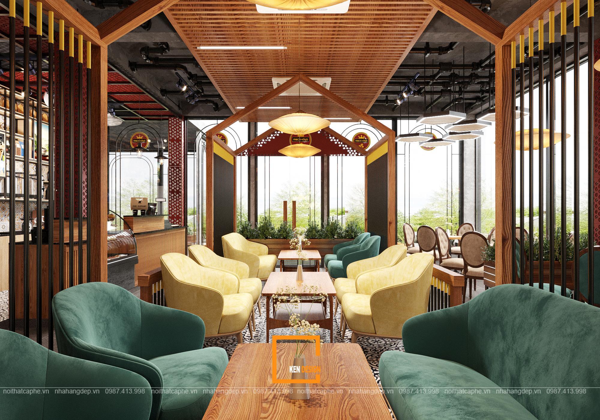 Vấn vương với bản vẽ thiết kế Rock King Coffee Quảng Ninh