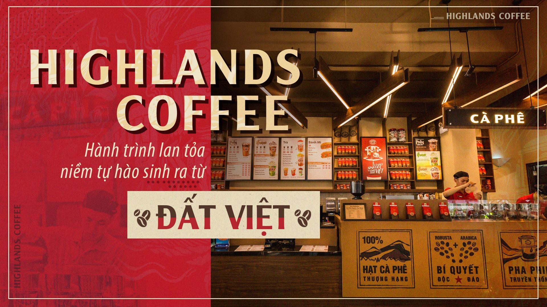 Khám phá sắc Việt trong thiết kế quán Highlands Coffee
