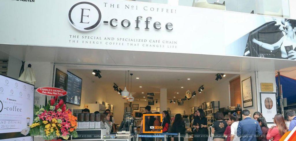 5 điểm khác biệt của cafe nhượng quyền Trung Nguyên E-Coffee