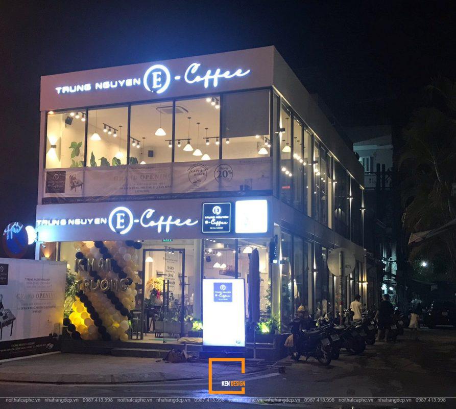Quy trình nhượng quyền thương hiệu Trung Nguyên E-Coffee