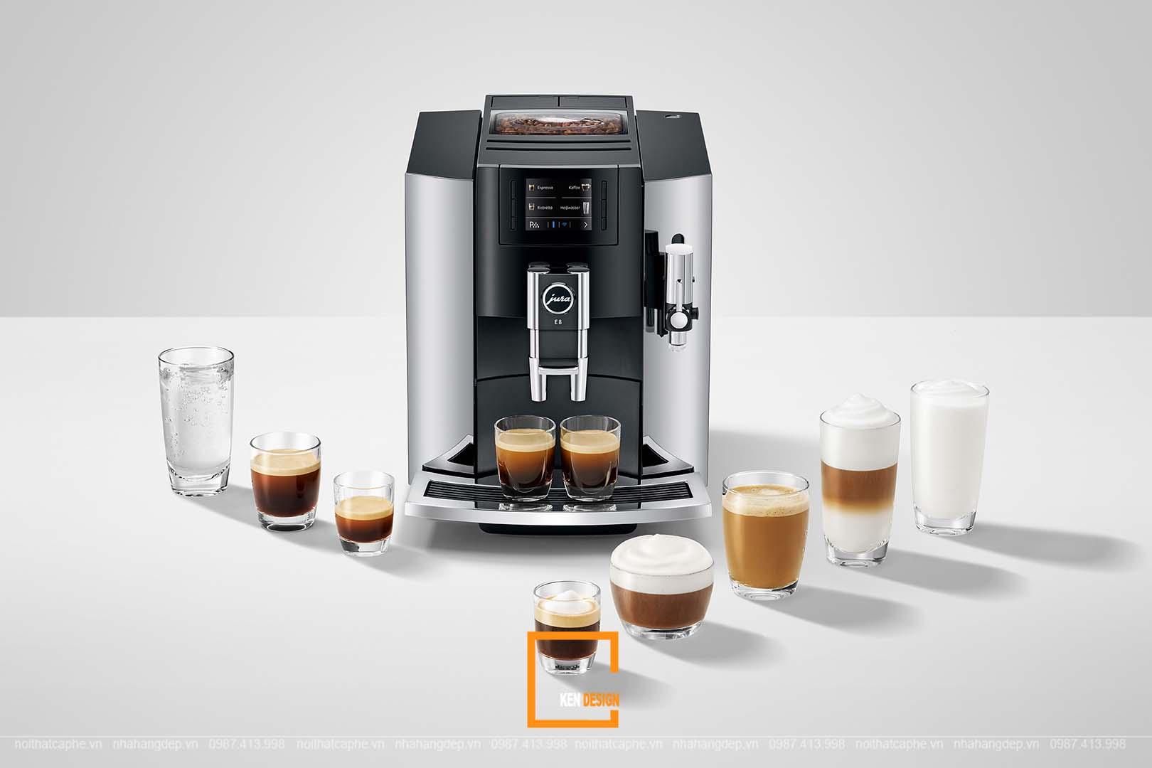 Cùng tìm hiểu về lợi ích và các loại máy pha cà phê thông dụng hiện nay
