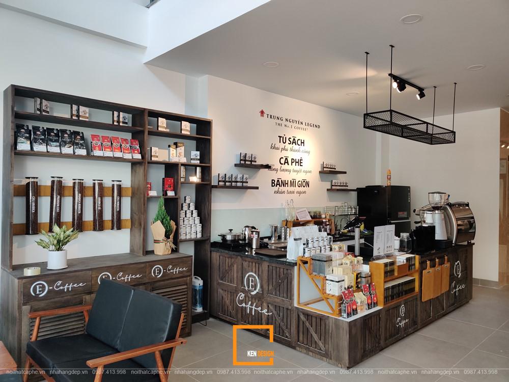 5 dấu ấn đặc biệt trong thiết kế quán cafe Trung Nguyên E-Coffee