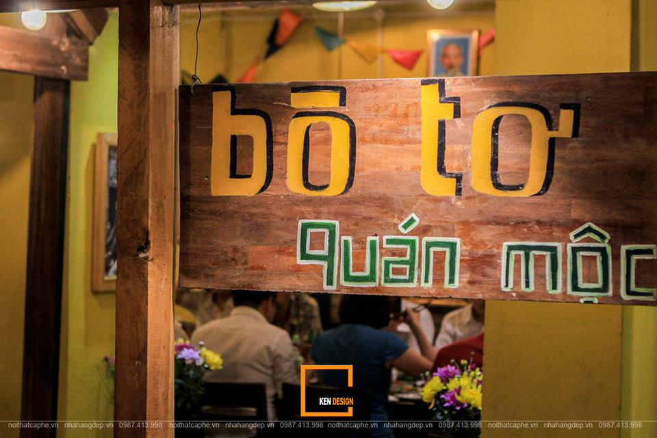 """""""Chạm lại ký ức"""" Hà Nội xưa trong không gian nhà hàng Bò Tơ Quán Mộc"""