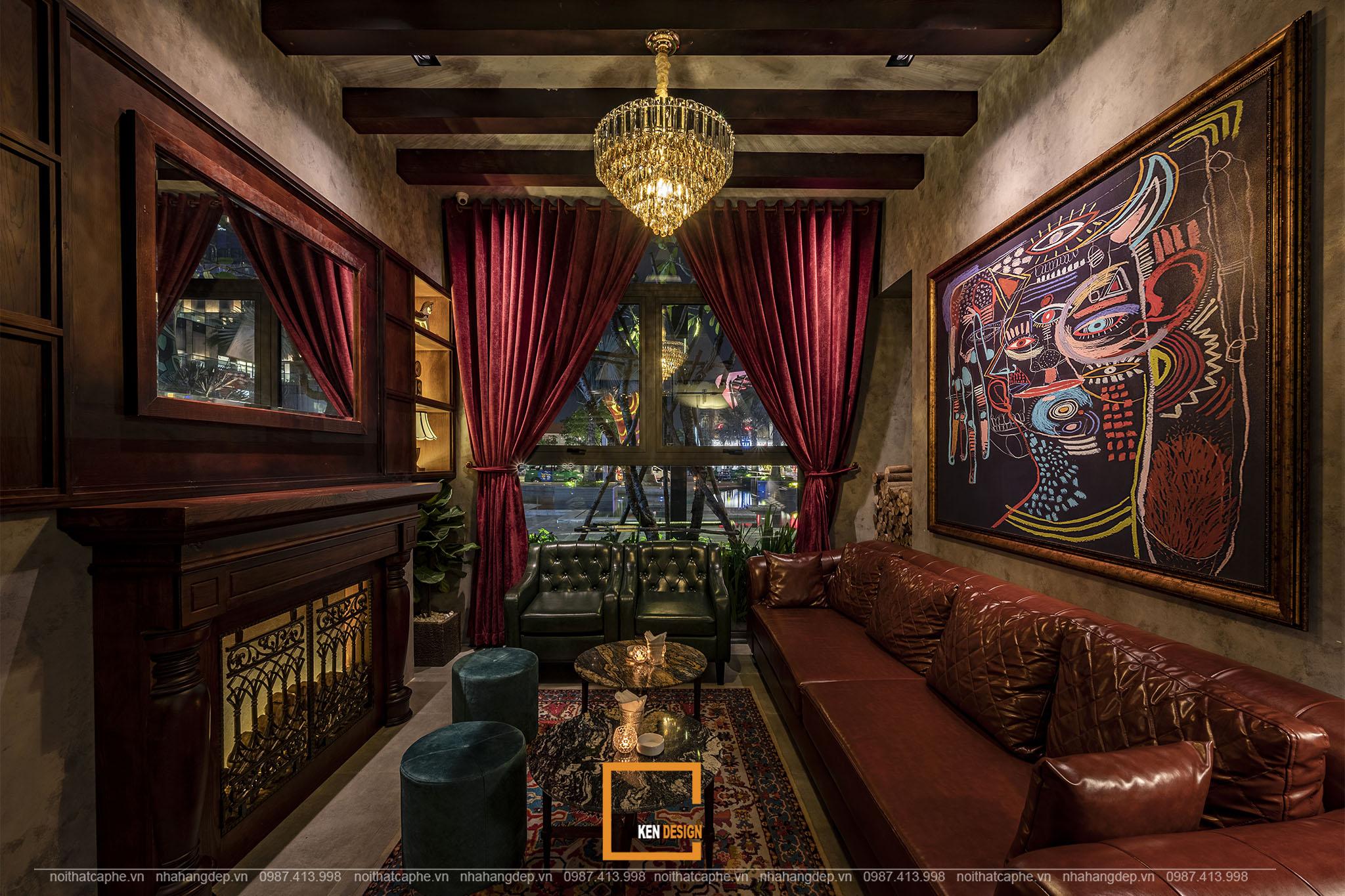 Thi công bar lounge Nevermind - không gian chillout đẳng cấp