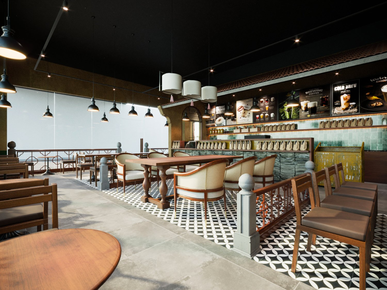 Thiết kế Buôn Cà phê Thảo Điền - Xua tan ưu phiền giữa miền An Nam